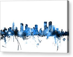 Denver City Acrylic Prints