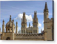 University Of Oxford Acrylic Prints