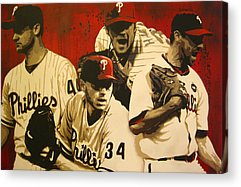 Roy Oswalt Paintings Acrylic Prints