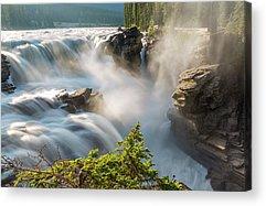 Athabasca Falls Acrylic Prints