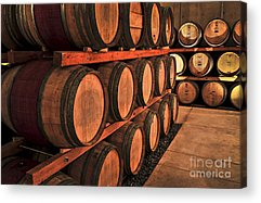 Wine Making Acrylic Prints
