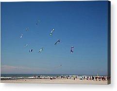 Stunt Kite Acrylic Prints