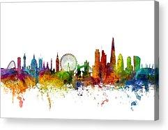 England Acrylic Prints