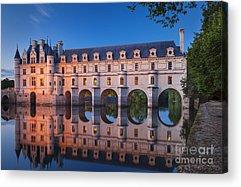 Chenonceau Castle Acrylic Prints