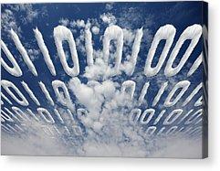 Code Acrylic Prints