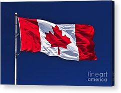 Flagpole Acrylic Prints