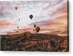 Hot Air Balloon Acrylic Prints