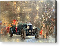 Bentley Paintings Acrylic Prints