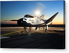 Spaceplane Acrylic Prints