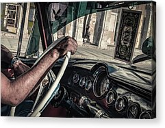 Steering Wheel Acrylic Prints