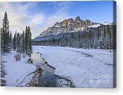 Canadian Rockies Acrylic Prints