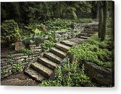 Stone Steps Acrylic Prints
