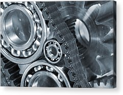 Industry Photographs Acrylic Prints
