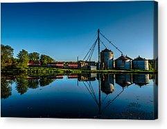 Feed Mill Photographs Acrylic Prints