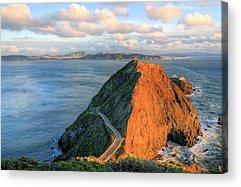 Sausalito California Acrylic Prints