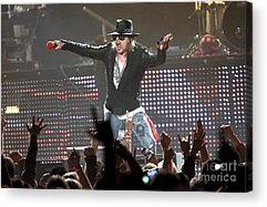 Axl Rose Acrylic Prints