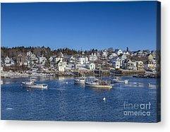New England Coast Acrylic Prints