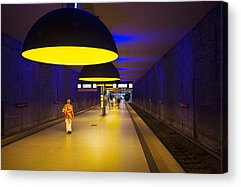 U-bahn Photographs Acrylic Prints
