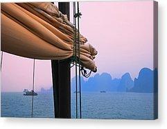 Junk Boat Acrylic Prints