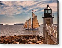 Coastal Maine Photographs Acrylic Prints