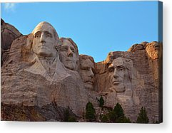 Mount Rushmore Acrylic Prints