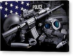 Law Enforcement Acrylic Prints