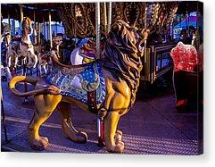Carousel Pony Acrylic Prints