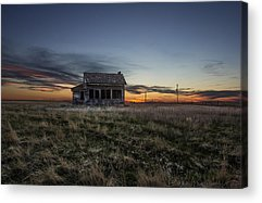 Prairie Sunset Acrylic Prints