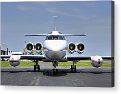 Lockheed Jetstar Acrylic Prints
