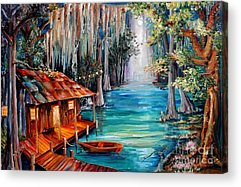 Cypress Swamp Acrylic Prints