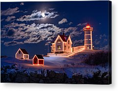 New England Lighthouse Acrylic Prints