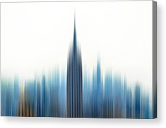 Abstract Skyline Acrylic Prints