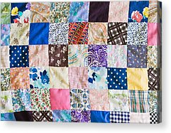 Home Made Quilts Acrylic Prints