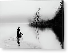 Paddler Acrylic Prints