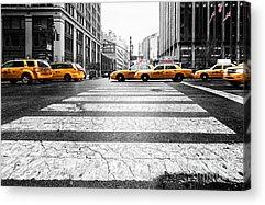 Taxi Acrylic Prints