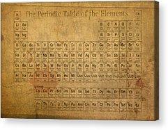 Periodic Acrylic Prints
