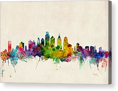 Philadelphia Skyline Acrylic Prints