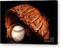 Softball Acrylic Prints