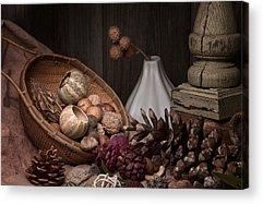 Gourds Acrylic Prints