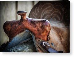 Horse Tack Acrylic Prints