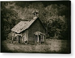 Old Abandoned Building Acrylic Prints