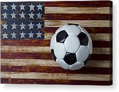 Soccer Ball Acrylic Prints