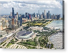 Soldier Field Acrylic Prints
