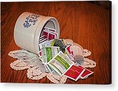 Tea Canister Acrylic Prints