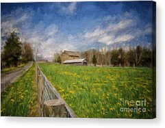 Old Country Roads Photographs Acrylic Prints