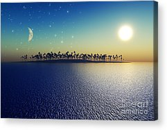 Full Moon Acrylic Prints