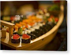 Sushi Acrylic Prints