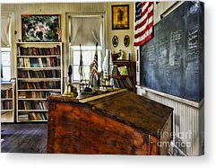One Room School Houses Acrylic Prints