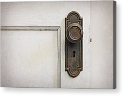 Old Wooden Door Acrylic Prints