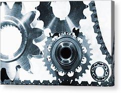 Gears Acrylic Prints